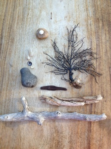 our tiny, unspoken tradition. our gifts from the sea.
